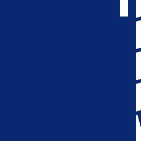 DM fliser blå